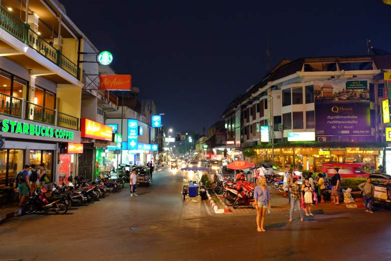 Nacht in Chiang Mai