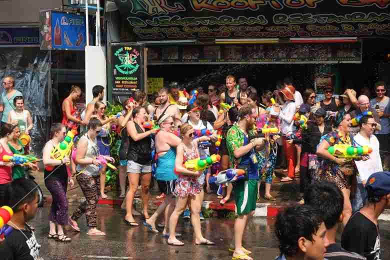 Songkran in ChiangMai
